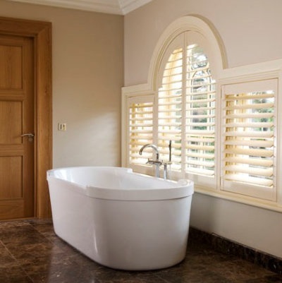 designer bathroom shutters