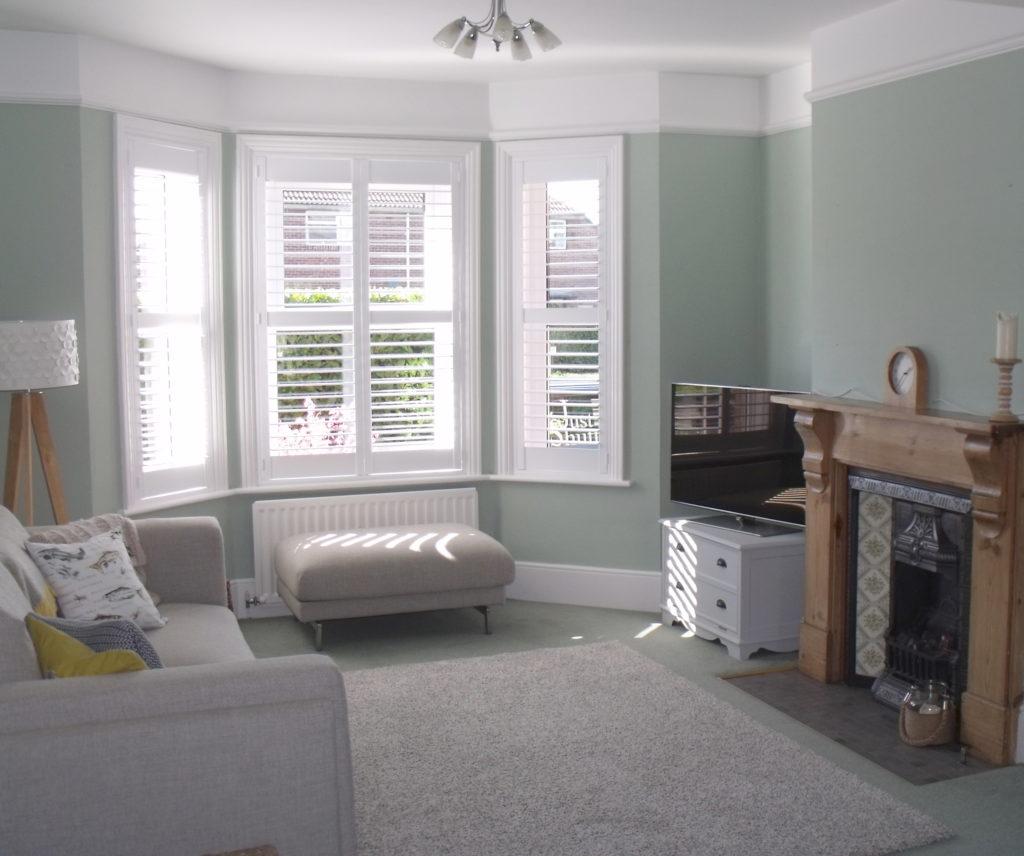Bay Window Shutters Wooden Shutter Blinds For Bay Windows