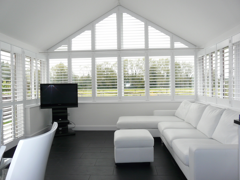 Shutters For Conservatories Conservatory Window Blinds