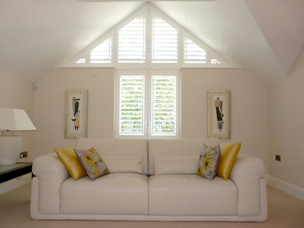 Shaped Shutters From Your Local Plantation Shutter Experts