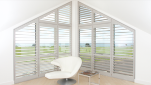 Great example of Bournemouth Plantation Shutters