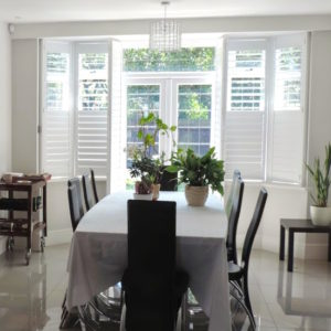 Exeter plantation shutters