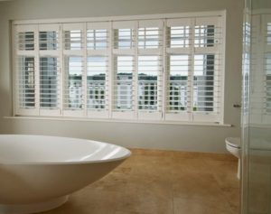 Window Shutters Birmingham bathroom example
