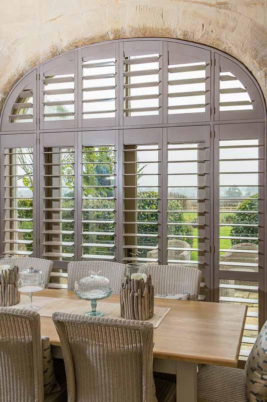Cobham plantation shutters