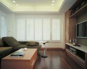 Berkhamsted Plantation Shutters in reception room