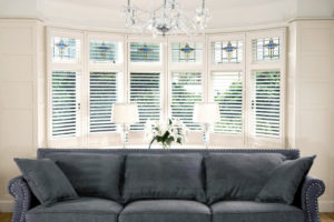 Tring Plantation Shutters in lounge