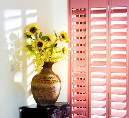 Bedroom Colour Plantation Shutters