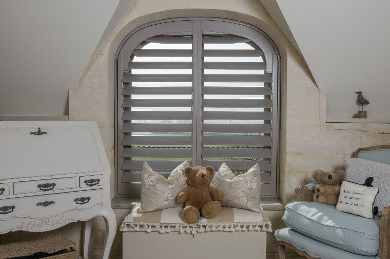 Bedroom Plantation Shutter